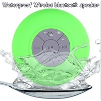 Portable Mini HIFI Waterproof Shower pool Wireless Bluetooth Handsfree Mic Suction Car