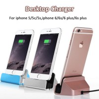 USB charging Sync and Charging Dock Station Desktop Charger / Stand For iPhone 5/5s/SE/6/6S/6plus/6splus