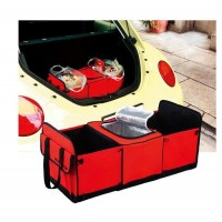 Multifuctional Auto Care Car trunk storage bag Oxford Cloth folding truck storage box Car   Trunk Tidy Bag Organizer Storage Box with cooler bag