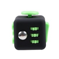 FireAngels Squeeze Fun Stress Reliever Gifts Fidget Cube Relieves Anxiety and Stress Juguet For Adults Fidgetcube Desk Spin Toys(Green)