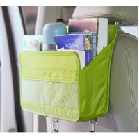 FireAngels Car Back Seat Organizer Cover Protector and Storage Bag File Magazine Document Organizer Hanging Bag
