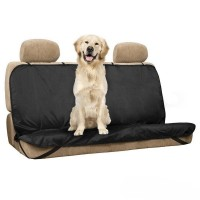 FireAngels Pet Waterproof Car Rear Seat Cover with Protective Cover for Pet