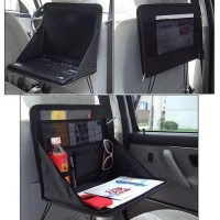 FireAngels Car Laptop Holder Tray Bag Mount Back Seat Auto Food Work Table Organizer