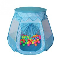 Portable Folding Children Hexagonal Princess Play Tent Ball Pit Indoor Outdoor Kids Castle Cubby Play House