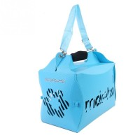 Fashion Pet Bag Folding Wacky Paws ECO Pet Carrier Pet Diagonal Package English Alphabet Handbag