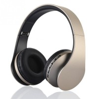 New Foldable Wireless Over-ear Card headset / radio / Bluetooth Stereo Headset