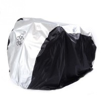 Outdoor ​Bike Cover UV Protective Waterproof Dustproof Foldable Cycle Bicycle Storage Protector For Double 26inch Bike
