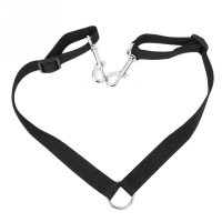 Double Dog Leash Coupler No Tangle Durable Suits All Dog Walker and Trainer Leash Two Dogs Adjustable Splitter Lead