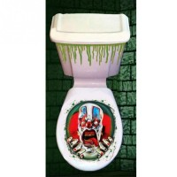 Simple Halloween Horror Picture Toilet cover Toilet Stickers Bathroom Decoration