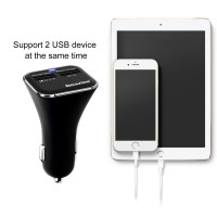 Qualcomm Quick Charge 3.0 2-port USB Car Charger