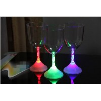 LED Flash Wine Glass Cup Colorful Changed Glow Goblet Cups For Bar Wedding Christmas Party Table Ornaments halloween Party Night Bar Wedding