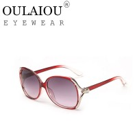 Oulaiou Fashion Accessories Anti-UV Trendy Reduce Glare Sunglasses O9554