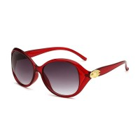 Oulaiou Brand Women's Trendy Sunglasses Summer Fashion Accessories Anti-UV O0153
