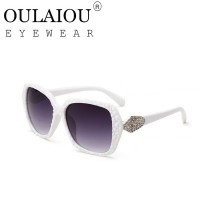 Oulaiou Fashion Accessories Anti-UV Trendy  Sunglasses O9553