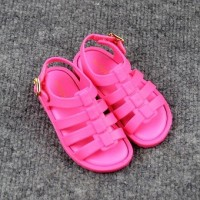 Children hollow-out the Roman sandal shoes jelly shoes foreign trade children's sandals