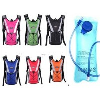 Outdoor sports backpack Mountain water bag backpack Bicycle backpack with water bag