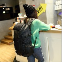 Men and women leisure high-capacity bag computer BaoChao han edition backpack backpack female man