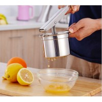 2017hot Manual pressure juice machine stainless steel products for the kitchen gadgets potato mud pressure juicer creative gift