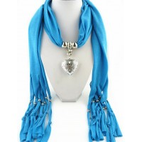 women pendant scarf scarves necklace jewelry long scarf free shipping