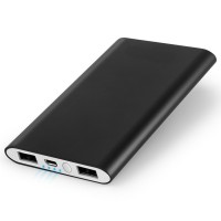 Slim 4000mAh Universal Dual USB External Battery Pack