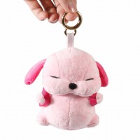 6000mAh Portable battery Power Bank banks Charger with Cute Plush stuffed Dog Ornament for mobile cell phone