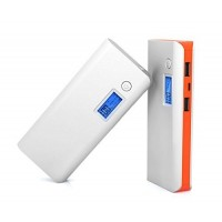 KEJEA 20000mAh Portable External Power Bank 2USB Backup Battery Charger For Cell Phone