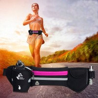 Multi-functional Sports Waist Pack Fanny Bag Chest Backpack 4 Zippers Waterproof Outdoor Waist Bag for Cycling Travel Hiking Camping Fishing