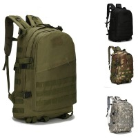 3D Tactical Backpack  Camouflage Mountaineering Backpack Army Fans Tactical Backpack Multifunction Men And Women Outdoor Sports Waterproof Hiking Pack