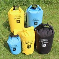 Large capacity waterproof bag outdoor waterproof bag 500D waterproof package outdoor sports goods