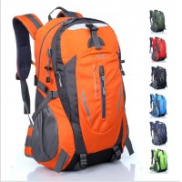 Outdoor leisure travel backpack female large capacity mountaineering bag men and women 40L riding sports bag
