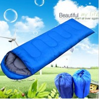 Envelope sleeping bag outdoor camping trip spring summer sleeping bag home self driving camp