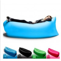 Outdoor sofa portable lazy sofa folding inflatable bed beach lazy air sofa sleeping bag