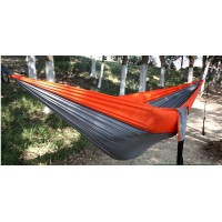 Double color 3m*2m outdoor hammock camping hammock parachute cloth