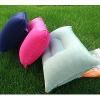 (A set of three pieces)Outdoor PVC pillow camping trip camping thick rectangular inflatable pillow nap partner square pillow