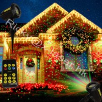 outdoor garden light landscape laser light show