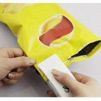 New White Portable Sealing Tool Heat Mini Handheld Plastic Bag Impluse Sealer D6