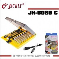 JK 6089-C 45 in 1 Screwdriver Set Repair Tools For Mobile Phone