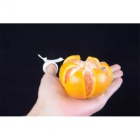 2015 Hot Creative Kitchen Gadgets Cooking Tools Peeler Parer Finger Type Cleverly Open Orange Peel Orange Device Free Shipping