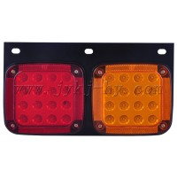 12V 24V Yellow and red color light 2W Nisscans UDs Truck LED Tail Lamp