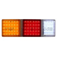12V 24V Red Yellow White LED Truck Tail Lights