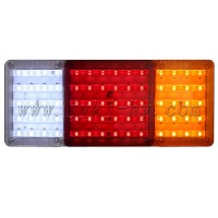 12V 24Volt LED truck trailer rear turn signal tail lights
