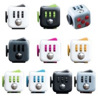 11 Types Fidget Cube Toys A Vinyl Desk Kickstarter Toys For Girl Boys Chrismtas Gifts Fidget Cube Black Green Grey Red Toys Cube