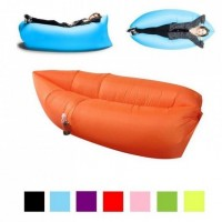 Portable Inflatable Sofa Single Inflatable Sofa Bed Beach Lazy Sleeping Bag