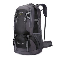 New outdoor mountaineering bag waterproof nylon travel bag couple shoulder leisure sports backpack 40L