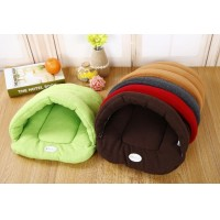 Free Shipping Pet Products Dog Bed Puppy Cushion Cat House Pet Soft Warm Kennel Dog Mat Blanket Pad 3 Size