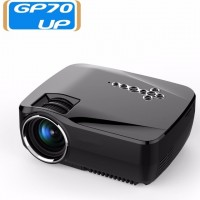 LED Projector Built-in Android 4.4 DLAN WIFI Bluetooth Miracast Airplay EZCast Multilanguage MINI Beamer Free Shipping