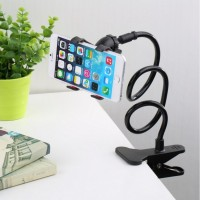 360 Rotating Universal Car Holder Stand Lazy Bed Desktop Car Stand Phone Holder Selfie Mount for Mobile Phone