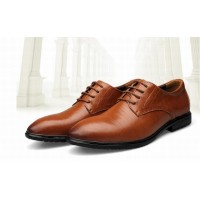 Mens Height Increasing Leather shoes Classic Elevator 6 CM Formal Dress Mens Shoes male vintage wedges business shoes lace up