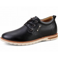 Men's casual shoes spring autumn comfortable men's lace-Up height increasing 6 cm elevator shoes men business dress shoe fashion