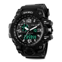 SKM Men's  Digital Quartz lectronic Sport Waterproof  Multifunction Watch